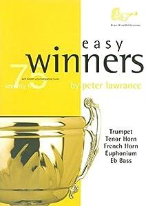Easy Winners For Treble Brass Instruments. Sheet Music for Euphonium, French Horn, Trumpet, Trombone