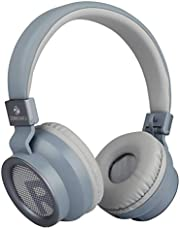 Zeb-Bang Bluetooth Headphone with Voice Assistant (Blue)