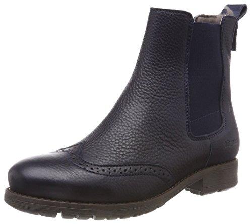 Bisgaard Mädchen 51003218 Chelsea Boots, Blau (608 Navy), 36 EU -