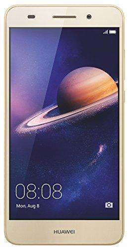 Huawei Y6 II Smartphone, 5.5' IPS HD, Dual SIM, 16 GB, 2 GB RAM, Oro