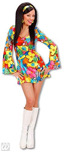 Horror-Shop Flower Power Girl Kostüm Medium