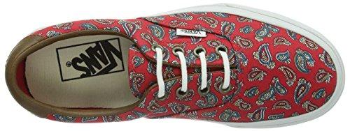 Vans U ERA 59 Unisex-Erwachsene Sneakers Rot ((Paisley) high / DNL)