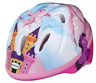 Schwinn Girls' Infant Unicorn Helmet, Pink & Blue, Age 1+ (44-50cm) from Pacific Cycle