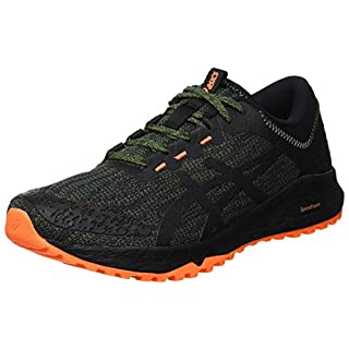 ASICS Men's Alpine Xt Running Shoes, (Cedar Green/Black 300), 9 UK