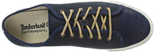 Timberland Uomo Ekglstnbry L/Fox Scarpe da Ginnastica Basse Blu (blu scuro)
