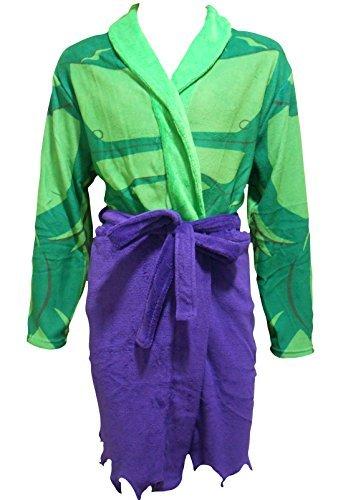 en Bademantel / Dressing Gown, Mehrere Superhelden Charaktere zu wählen (Hulk) (Marvel Kleid)
