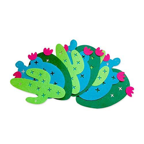 ZYCX123 1 Set Tropische Blätter Banner Flamingo Ananas Garland für Raumdekoration Hawaii-Sommer-Geburtstags-Party Supplies 4 Verschiedene Arten (blau, grün)
