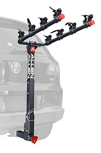 Allen Sports Deluxe Locking Quick Release 4Fahrräder Träger für 5,1cm Anhängerkupplung