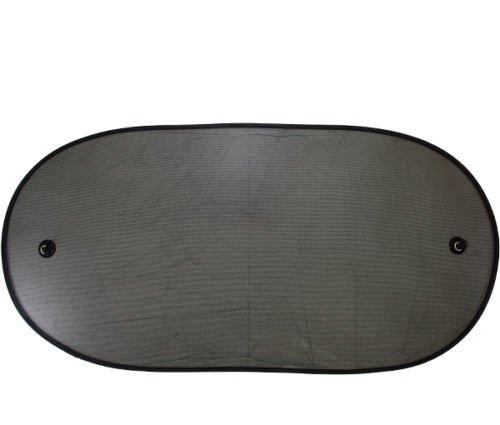 Universeller flexibler Sonnenschutz Rollo Netz Sonnenblende Heckscheibe Auto 1