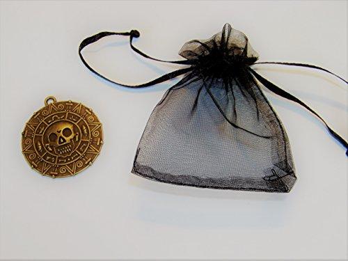 dallion Elizabeth Swann & ein Geschenkbeutel , Farbe: Altbronze (Elizabeth Swann Kostüme)