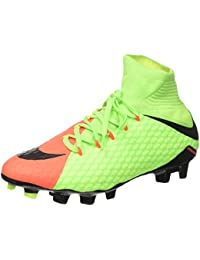 Nike Hypervenom Phatal Iii Df Fg - Botas de fútbol de Material Sintético para hombre verde verde/negro