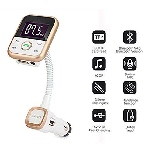 Bluetooth-Sender/Bluetooth-Wiedergabe/Freisprechen/Sprachnavigation/USB-Ladeausgang/Musik abspielen / MP3-Player/One-Click-Voice