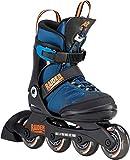 K2 Jungen Inline Skates RAIDER PRO - schwarz-blau-orange - 30D0221.1.1