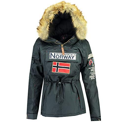 Geographical Norway Parka Mujer BOOMERA Ass A Azul Marino 01