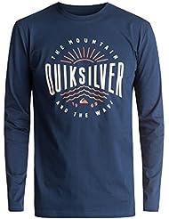 Quiksilver Herren Ls Tee Classic Mad Wave-Long Sleeve T-Shirt