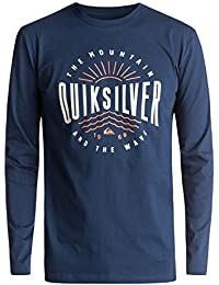 Quiksilver Ls Classic Mad Wave Tee Shirt à Manches Longues Homme