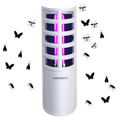 Insektenvernichter Insektenfalle Von Sticky Catch Indoor Silent Radiation-Free Sunnest Bug Zapper,White-50x50x200mm