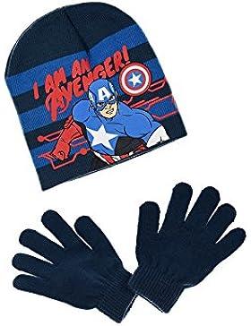 Les Avengers - Set de bufanda, gorro y guantes - para niño