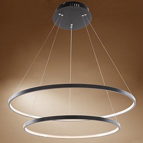... 60W LED Modern Acryl Pendelleuchte Höhenverstellbar Deckenlampe  Kreative Jugendstil Kronleuchter Lüster SMD Lampe Perlen Hängeleuchte ...