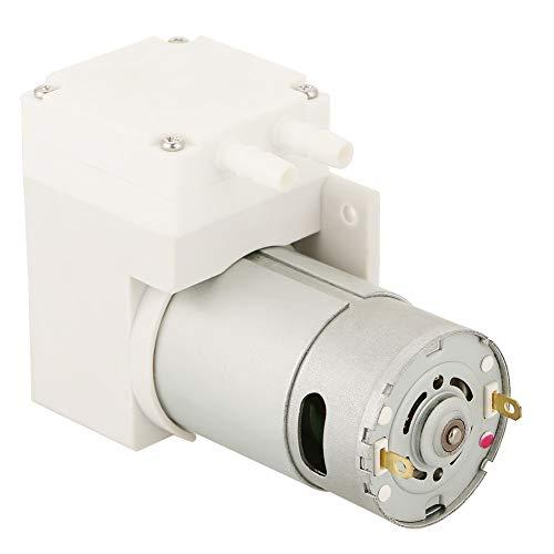 Mini Vakuumpumpe, DC12V Mini Vakuum Pumpe Negativ Druck Absaugung Pumpen Saugleistung bis zu 70L / min für Medizin, Labor, Lebensmittelfabrik