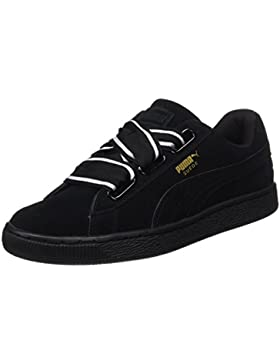 Puma Damen Suede Heart Satin II Sneaker