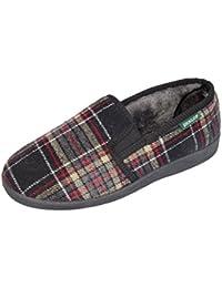 Men's WILFRED Dunlop Pantoufles doublées en fourrure