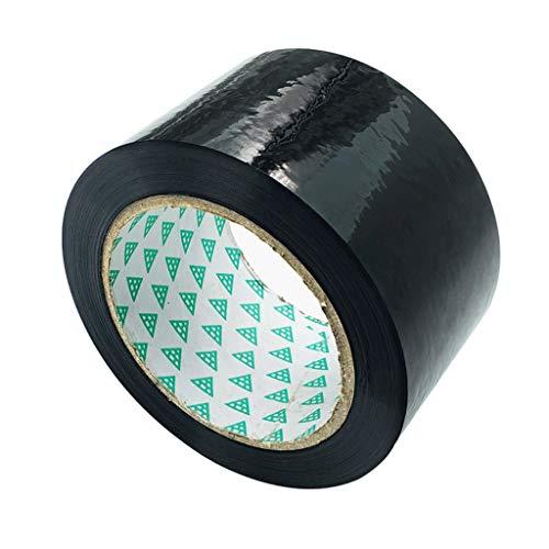 DONGXIN Wasserdichtes schwarzes Klebeband hoher Sonnenschutz einseitiges Kunststoff-Leuchtkästen-Klebeband (Color : Black, Size : 4.7cm×100m)