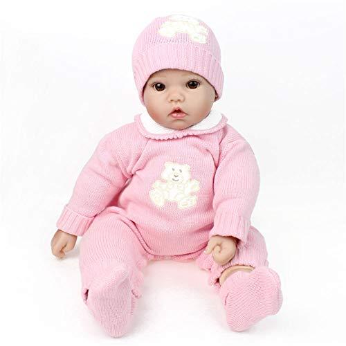 SJHO Reborn Dolls-20 Zoll Neugeborene Foto-Requisiten Simulation Puppe Spielzeug Kinder-Weihnachten Neujahrsgeschenke