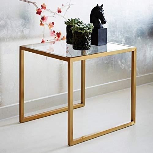 Tavoli e tavolini Tavolino da caffè in Vetro Piccolo Tavolino da Salotto  Soggiorno Camera da Letto Tavolo Quadrato Decorazione Ornamenti Divano ...