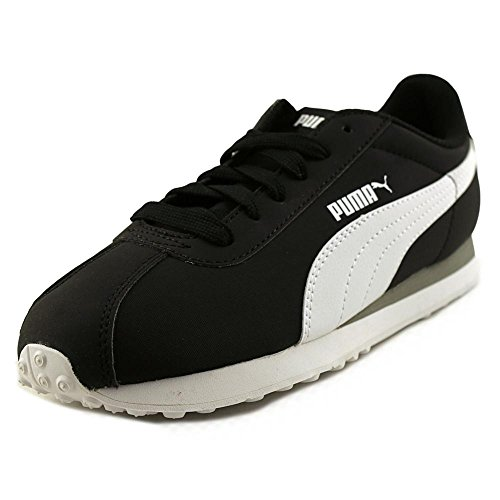 Puma Turin Herren Synthetik Laufschuh Black/White