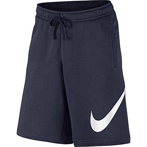 Nike Herren M Nsw Club Exp Bb Shorts, Blau (Obsidian/weiß), L -