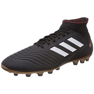 adidas Men's Predator 18.3 Ag Footbal Shoes, Black Cblack/Ftwwht/Solred, 10.5 UK