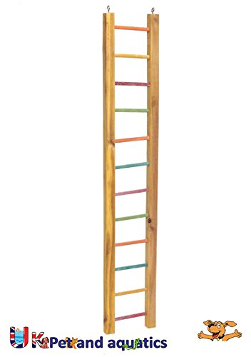 "LB-30 Wooden Ladder For Parrots, 36"" 1"