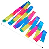 Gymnastikband - 5m - Regenbogen