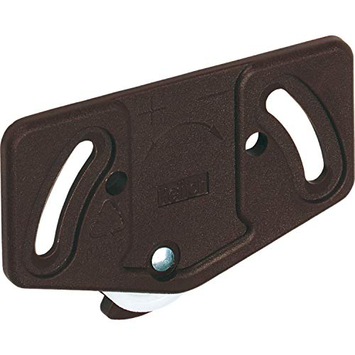 Gedotec Schiebetürbeschlag für Schranktür Schiebetürsystem für Holztür Bockrolle für Schiebetor | Slide Line 55 | Tragkraft 15 kg | 1 Stück