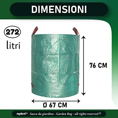 Zoom IMG-1 1x sacco da giardinaggio professionale