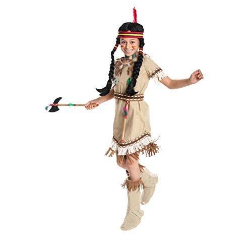 erin Kostüm Kinder Indianer Kostüm Mädchen Indianerkostüm Indianerinkostüm Größe 140 (80's Kostüm Ideen Für Mädchen)
