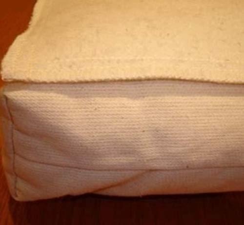 Wolle Feuchtigkeit (Holy Lamb Organics Wolle Feuchtigkeit Barriere Matratzenschoner, Wolle und Wollgemisch, Ivory Sateen, California King)