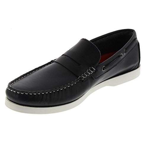 Marc Shoes Frisco, Zapatos de Cordones Derby para Hombre, Schwarz (Schwarz), 46 EU amazon-shoes Cordones