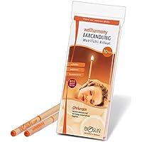 Preisvergleich für 10 Stück (5 Paar) BIOSUN wellharmony Ohrkerzen/Ohrenkerzen mit Sicherheits-Filter. Sinnlicher Duft von Orange,...