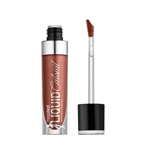 WET N WILD Megalast Liquid Catsuit Metallic Lipstick - Ride On My Copper - Lippenstift N Wild Java Wet