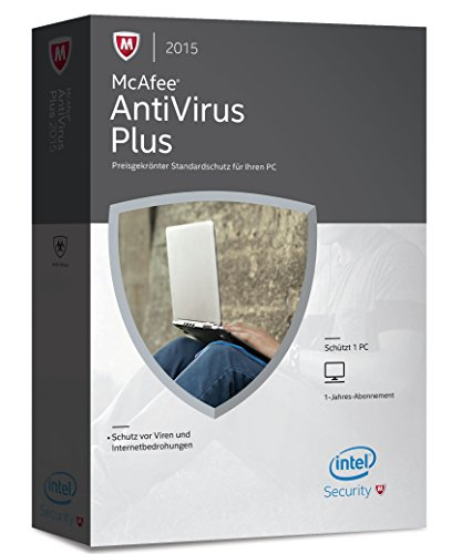 McAfee AntiVirus Plus 2015 - 1 PC (Mcafee Antivirus-software)