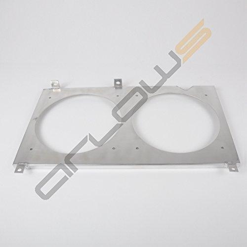 Alluminio Ventola lamiera Honda S200000-05(supporto/fissaggio per (Spal Ventole Di Raffreddamento)