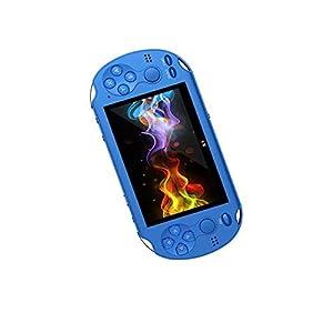 Vernwy PSP Taschenspielkonsole, 4.3 Zoll Großbildschirm Doppel-Rocker