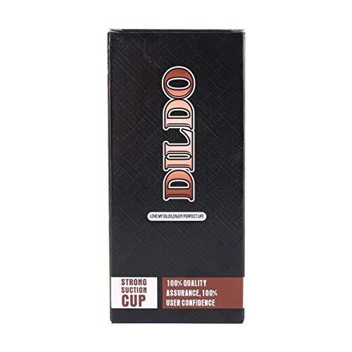 Preisvergleich Produktbild Vibrierender Dildo,  XS-WBC10009-V Realistischer großer Dildo,  großer Penis mit starkem Saugnapf,  großer Dildo,  Vibrator,  Sexspielzeug für Frauen,  Masturbator