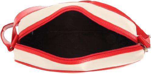 Gola Classics, Redford, Unisex_Adulto Rosso scuro - Bianco opaco - Rosso