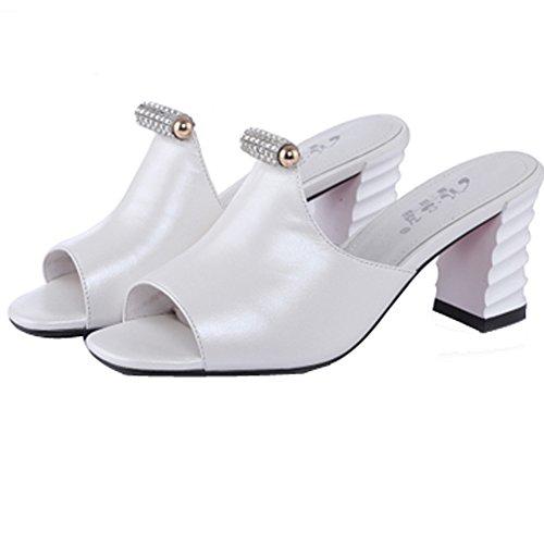 jall-sandalias-de-vestir-de-piel-de-borrego-para-mujer-blanco-blanco