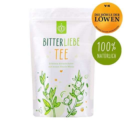 BitterLiebe Tee mit leckeren Bitterkräutern (ca. 60 Tassen) Loser Kräutertee Mischung inspiriert durch Hildegard von Bingen -