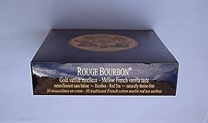 Mariage Frères - ROUGE BOURBON - Boîte de 30 sachets mousseline de thé
