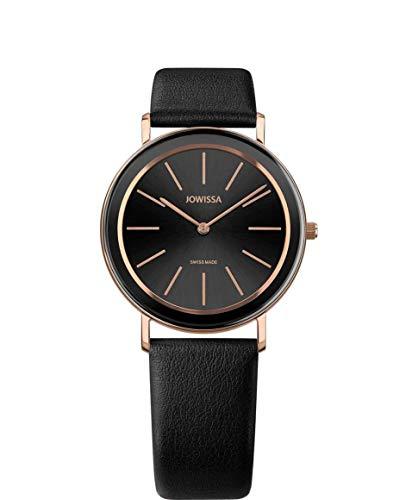 Jowissa Alto Swiss J4.387.L - Reloj de Pulsera para Mujer, Color Negro y Rosa